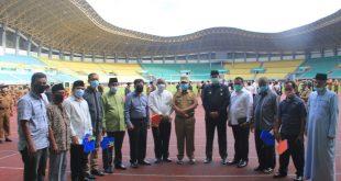 Wali Kota dan Wakil Wali Kota Apresiasi Atas Pengabdian 4 Pejabat Masuk Masa Purnabhakti