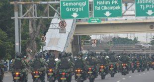Tingginya penyebaran Covid-19, Kodam Jaya dan Polda Metro Jaya Laksanakan Patroli Bersama