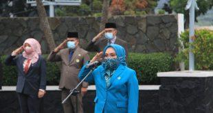 Peringati Hari Ibu, Isrti Wakil Wali Kota Bekasi Pimpin Upacara Tabur Bunga
