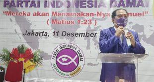 Sejarah Umat Manusia di Tangan Tuhan: Partai Indonesia Damai (PID) RayakanHari Natal 2020