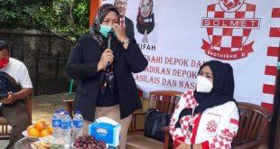 Solmet Kota Depok Dukung Pradi Supriatna - Alfian Alia