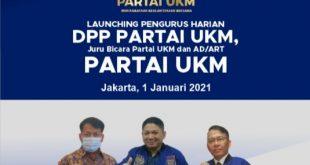 Launching Pengurus DPP Partai UKM, Langkah Awal Perjuangan