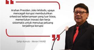 Kementerian PANRB Terus Berkomitmen Optimalkan Stranas PK