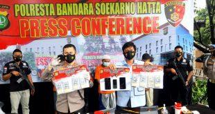 Polresta Bandara Soekarno Hatta Ungkap Kasus Peredaran Mata Uang Asing