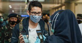Menparekraf Apresiasi Prokes Bandara Hang Nadim Batam