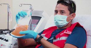 Penyintas Covid-19 Sandiaga Uno Donor Plasma Konvalesen